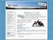 Tablet Preview of 121tech.co.uk